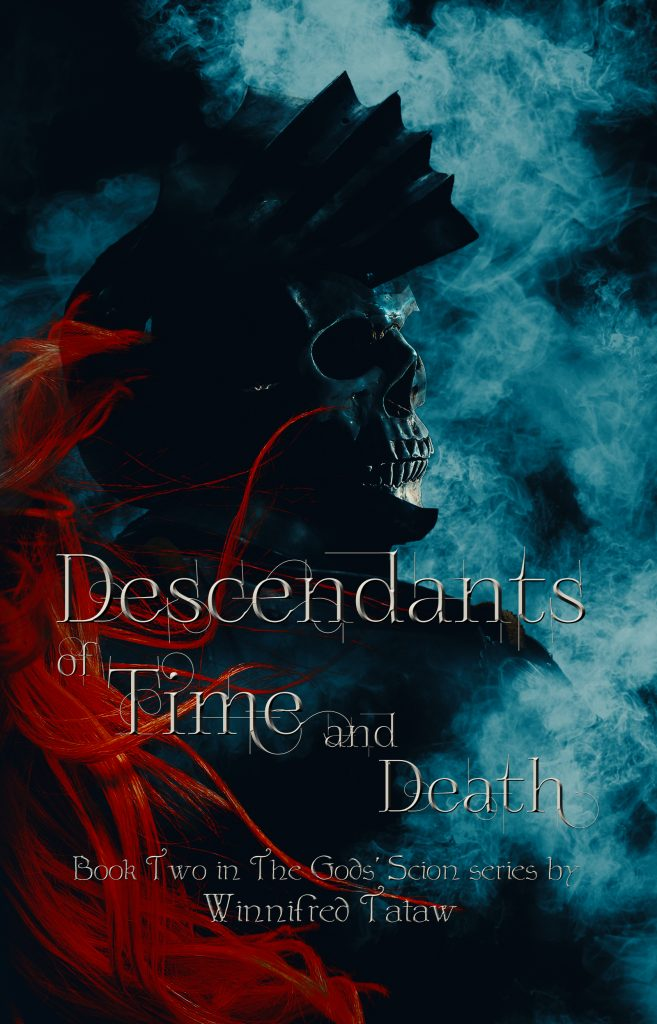 Descendants of time and death book title and cover