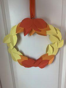How to make an ombré wreath