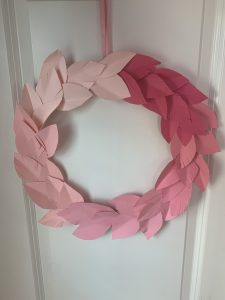 How to make your own ombre wreath