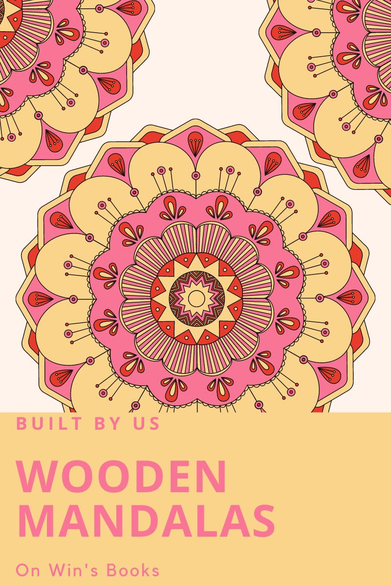 wooden mandalas