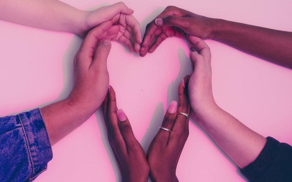 hands heart love