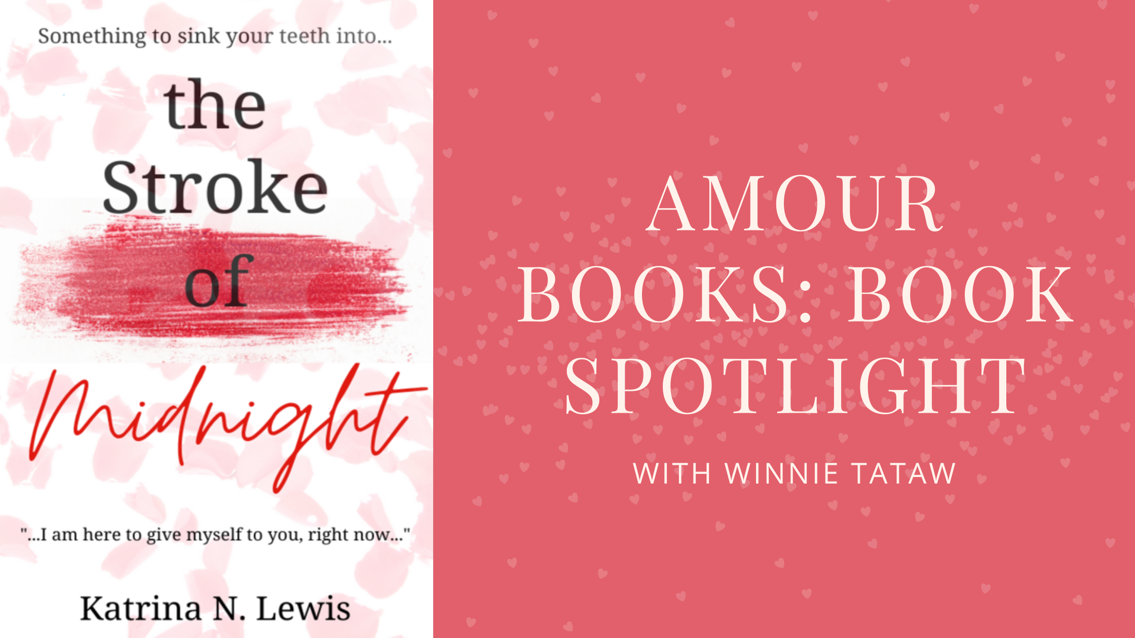 amour books book spotlight Blog Banner
