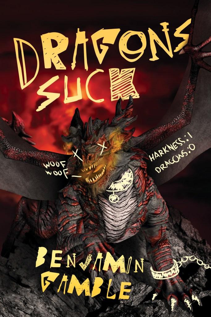 Dragons Suck Cover Book spotlight
