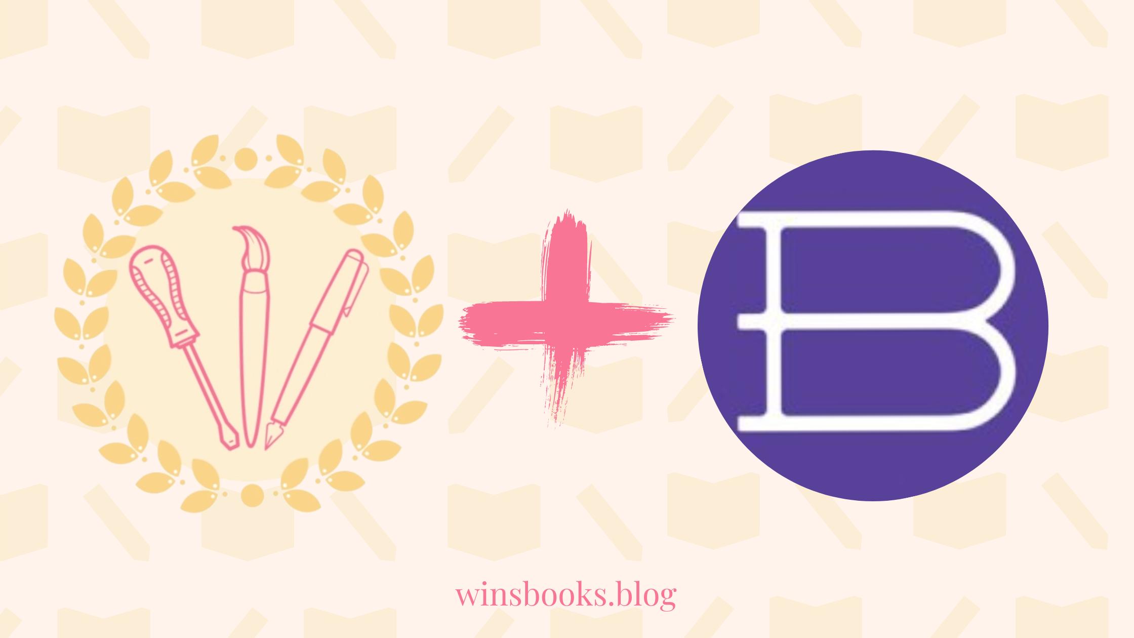 winsbooks logo and bookshop.org logo