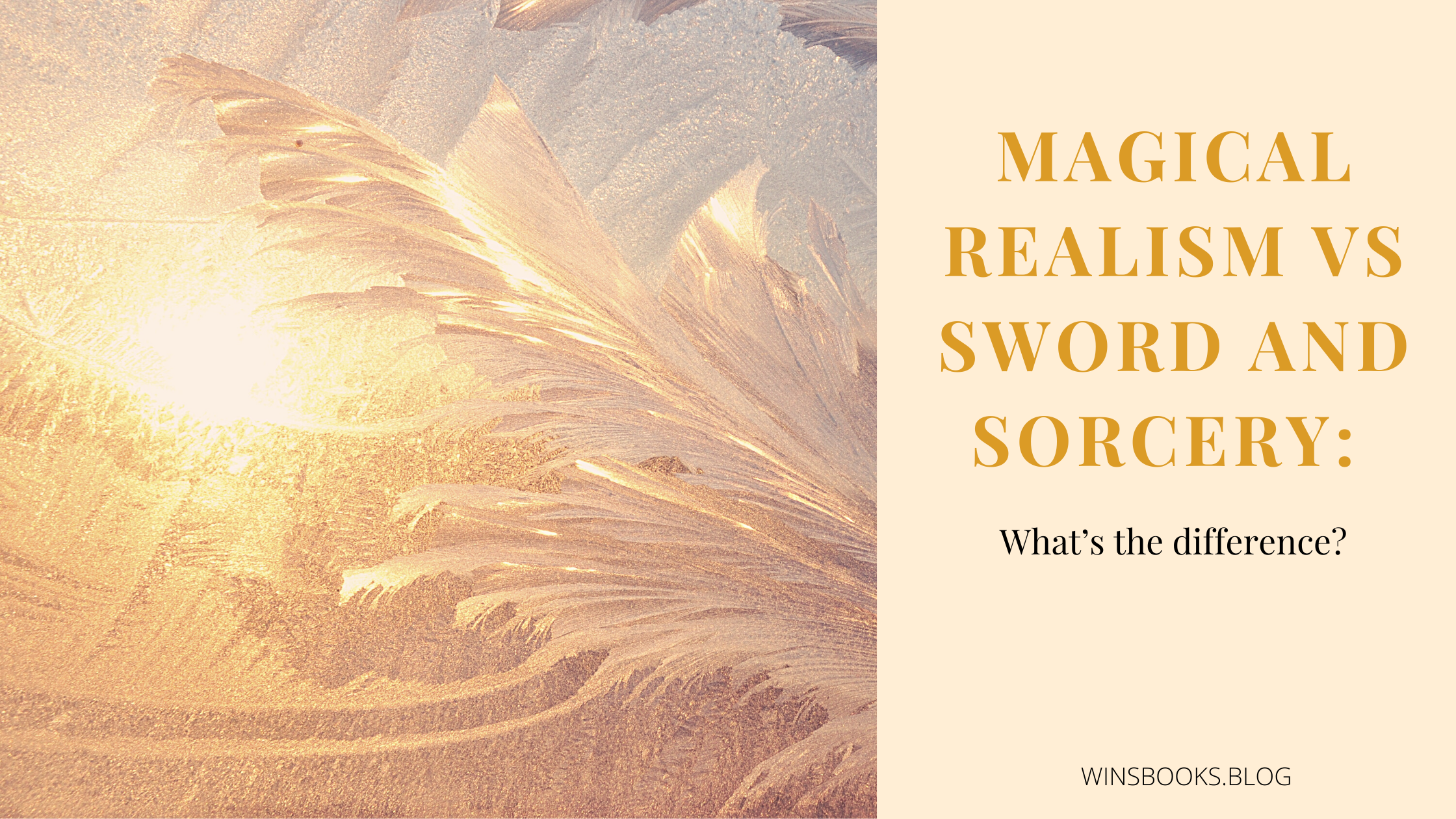 Sword and Sorcery; Magical realism; the difference,