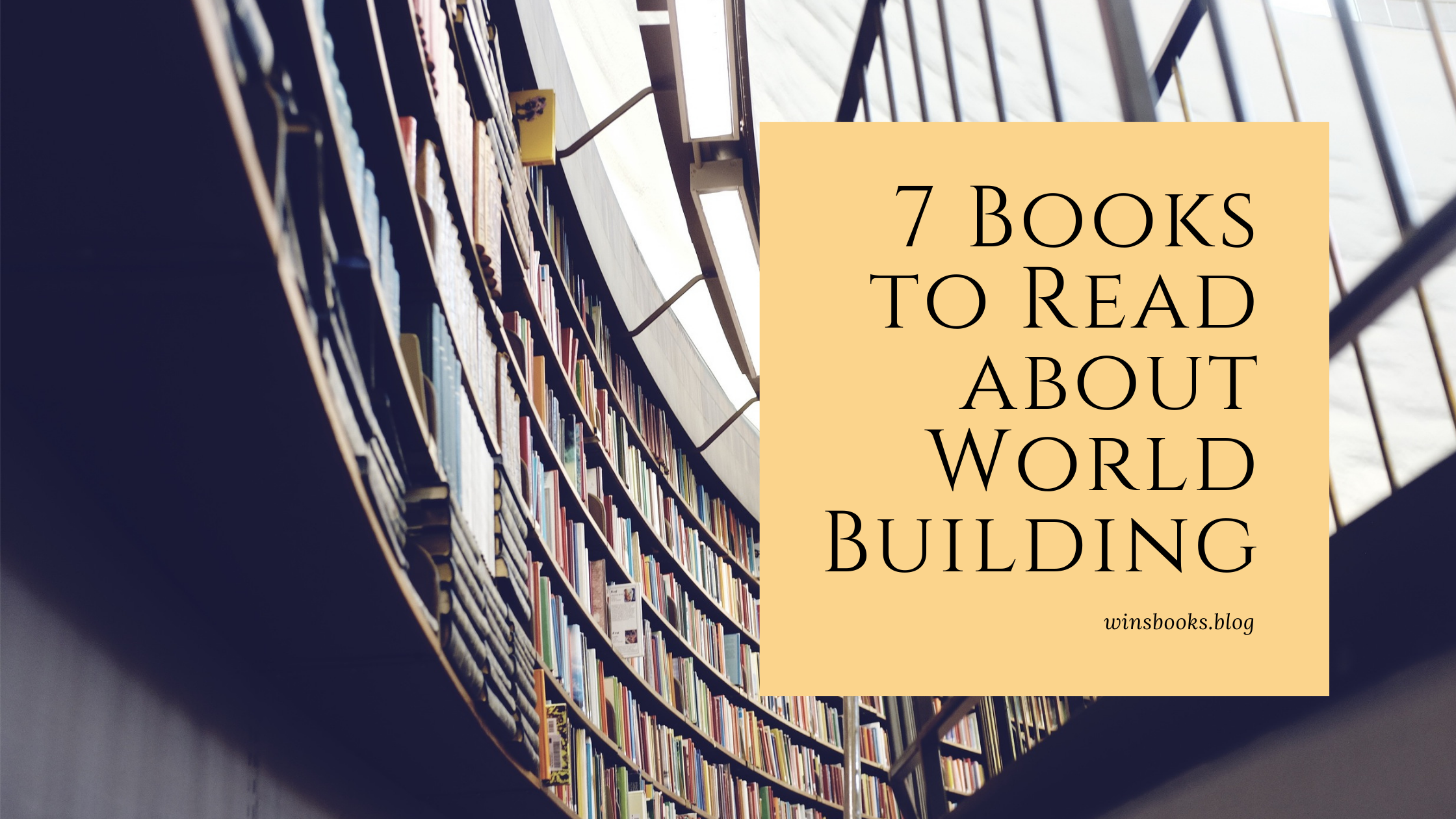 7 book to read about world building
