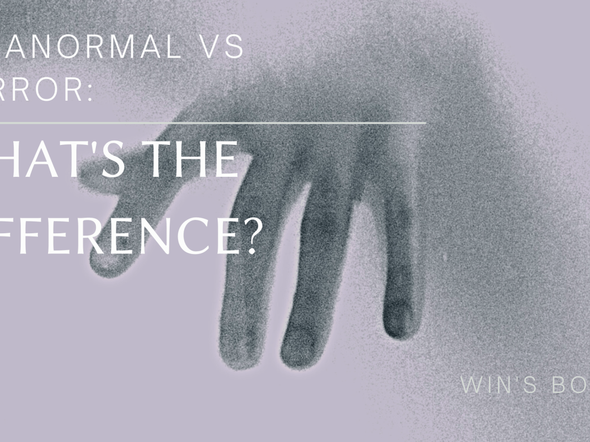 Paranormal vs Horror what is the difference?