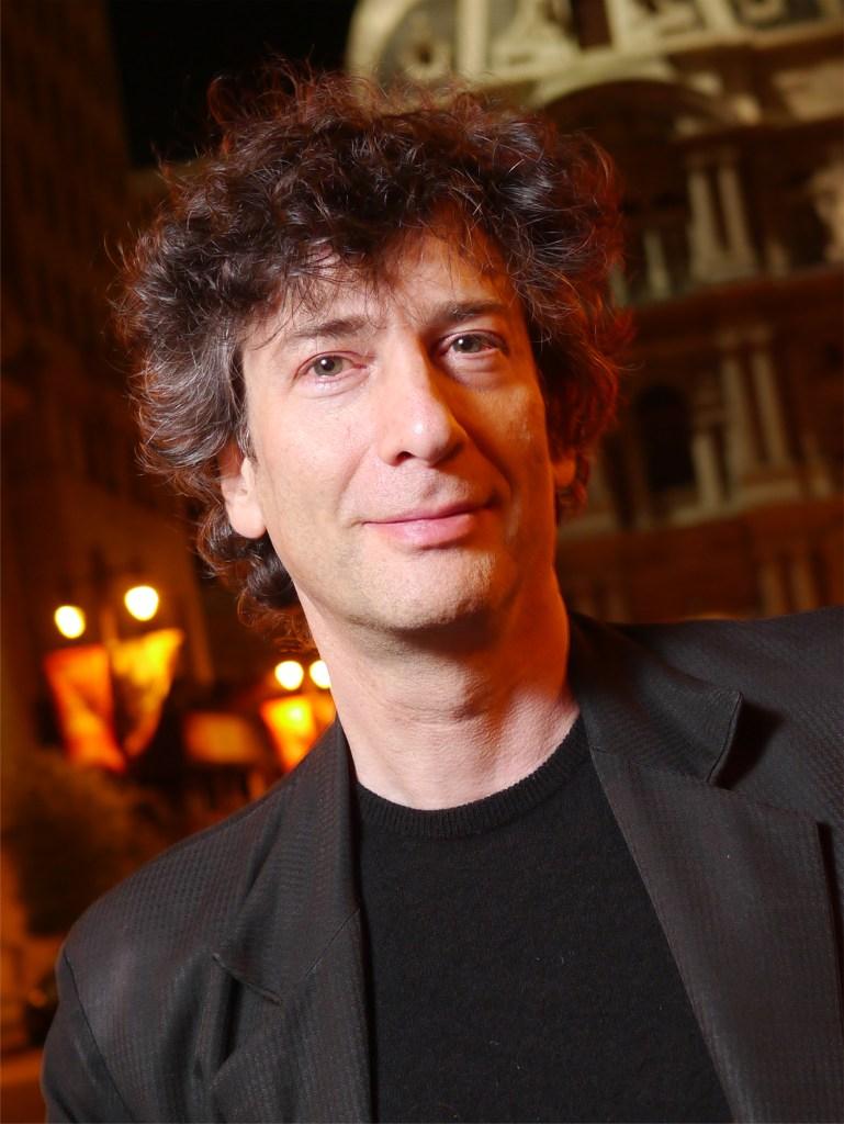 Neil Gaiman - Wikipedia; writers week Win's Books