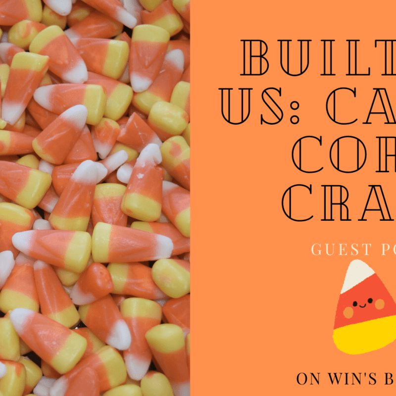 Built by Us candy corn craft