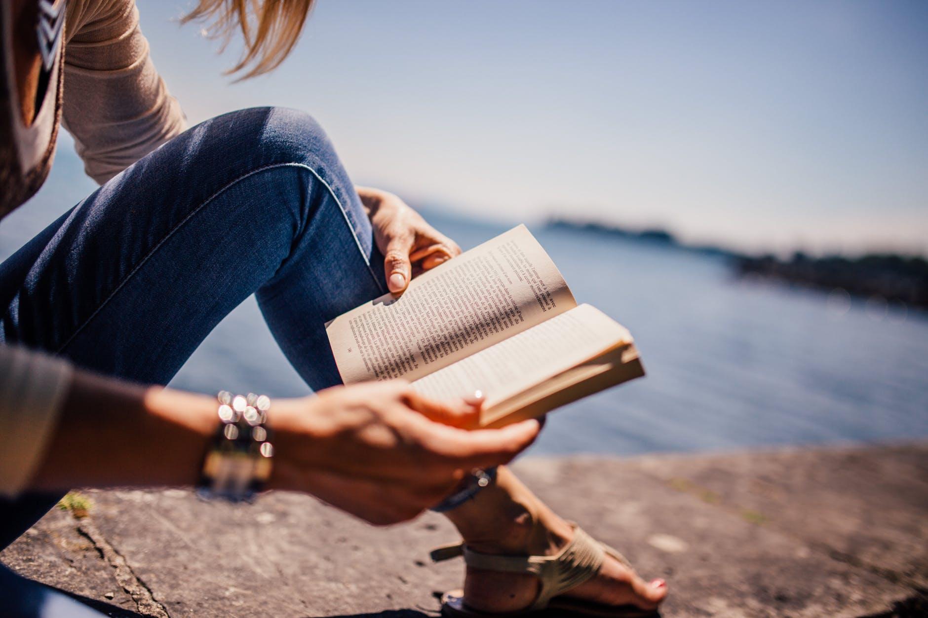 fashion woman girl women; author reading on Win's Books